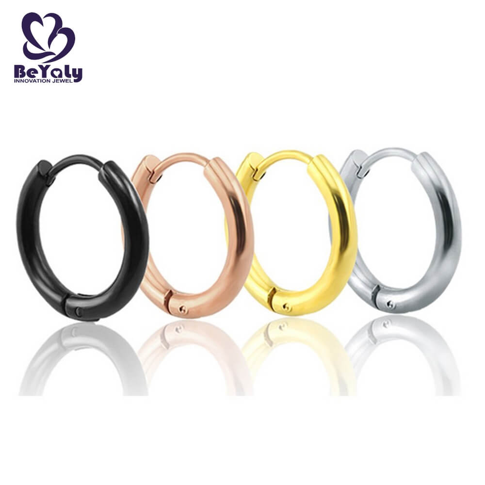 BEYALY big mini hoop earring design for advertising promotion-4