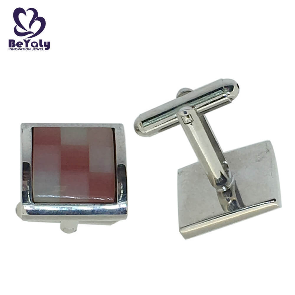 popular handmade silver cufflinks men Suppliers for engagement-1