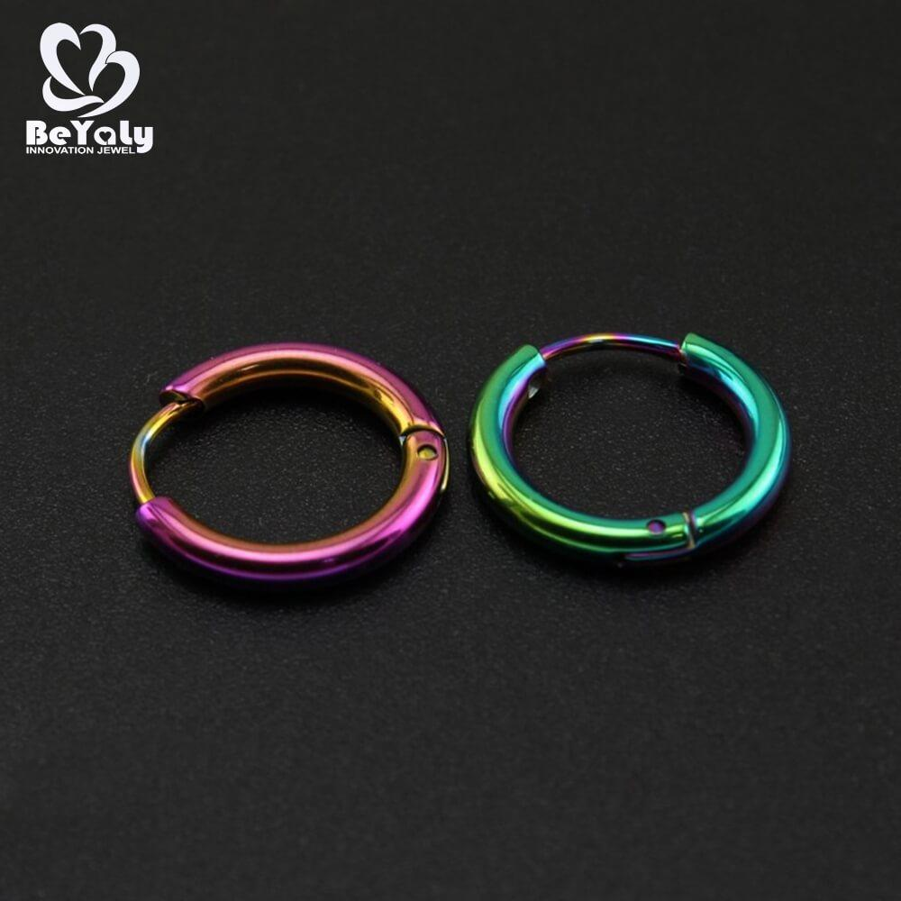 BEYALY big mini hoop earring design for advertising promotion-2