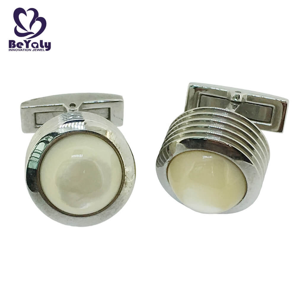BEYALY brass top 10 cufflinks for business for ceremony for advertising promotion-3
