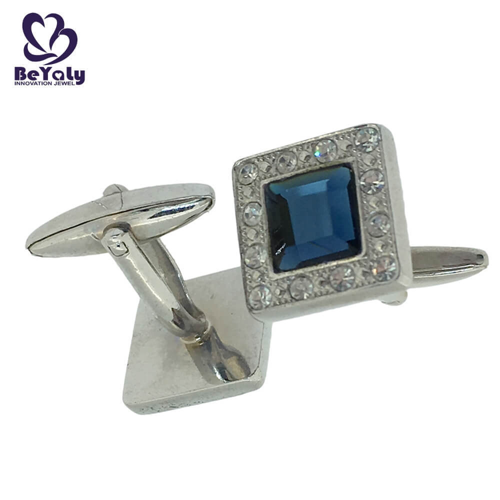 BEYALY stylish sterling silver cufflinks design for anniversary for celebration-1