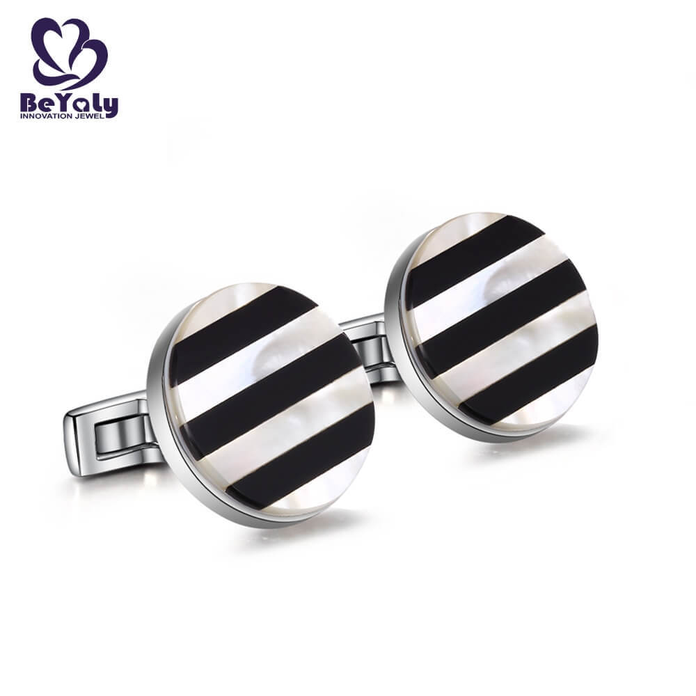 BEYALY customize cuff links for business for engagement-2