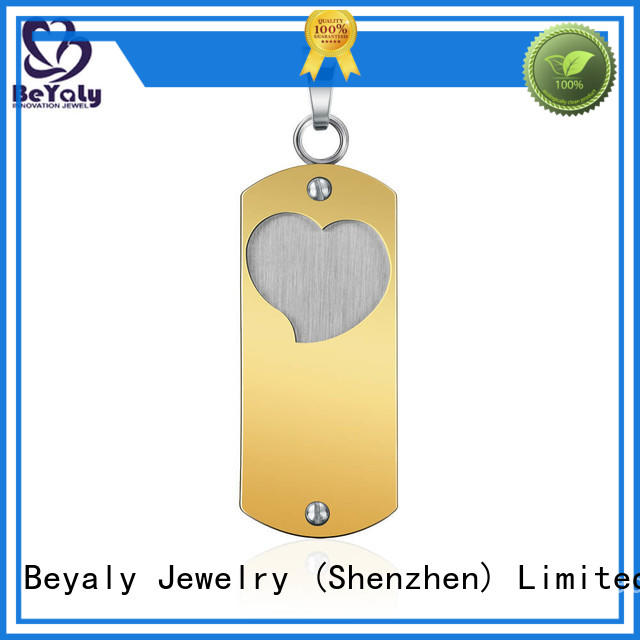 BEYALY fashion sterling silver clover pendant Suppliers for girls
