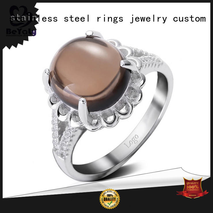 BEYALY steel sterling silver ring Supply for women