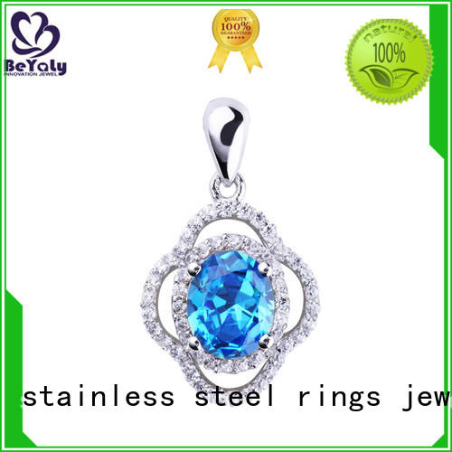 BEYALY best sterling silver clover pendant online for wife