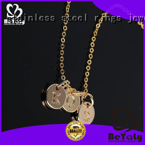 BEYALY colorful dog tag necklace sets