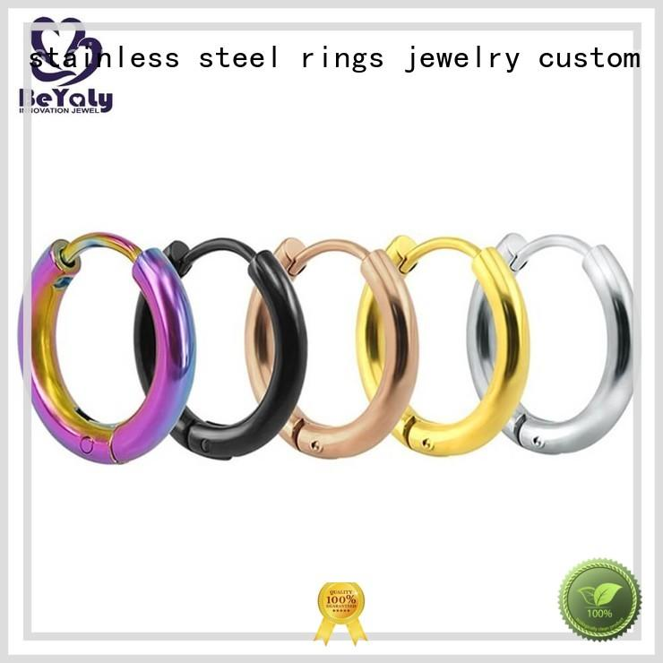 BEYALY rectangle circle stud earrings promotion for business gift