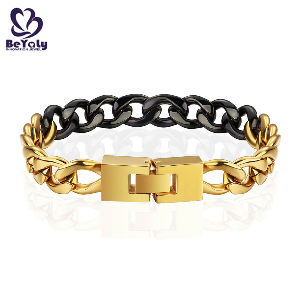 BEYALY leather sterling silver bangle bracelets for business for advertising promotion-3