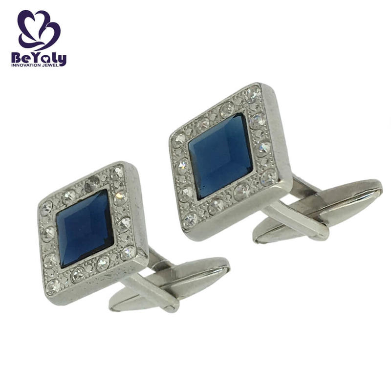 BEYALY square funny wedding cufflinks for party