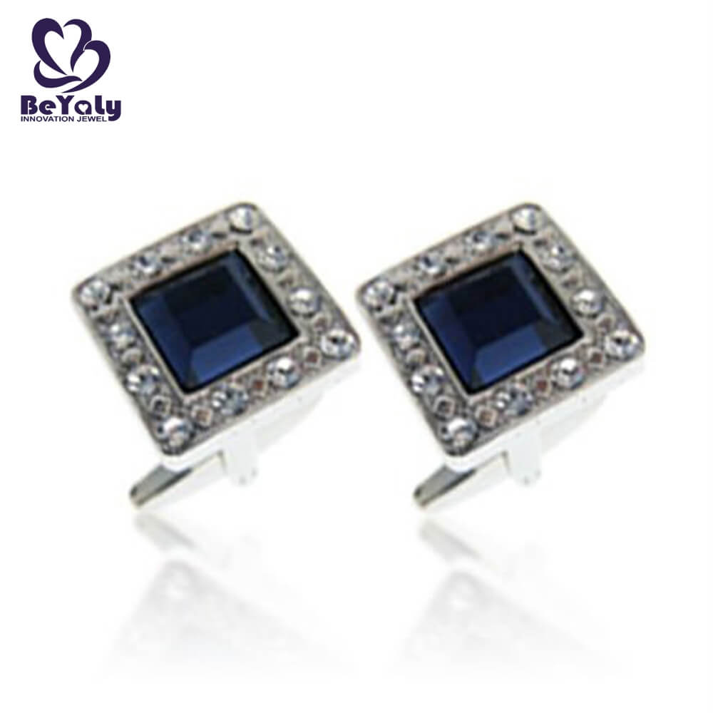 BEYALY Best buy mens cufflinks manufacturers for ceremony for advertising promotion-3