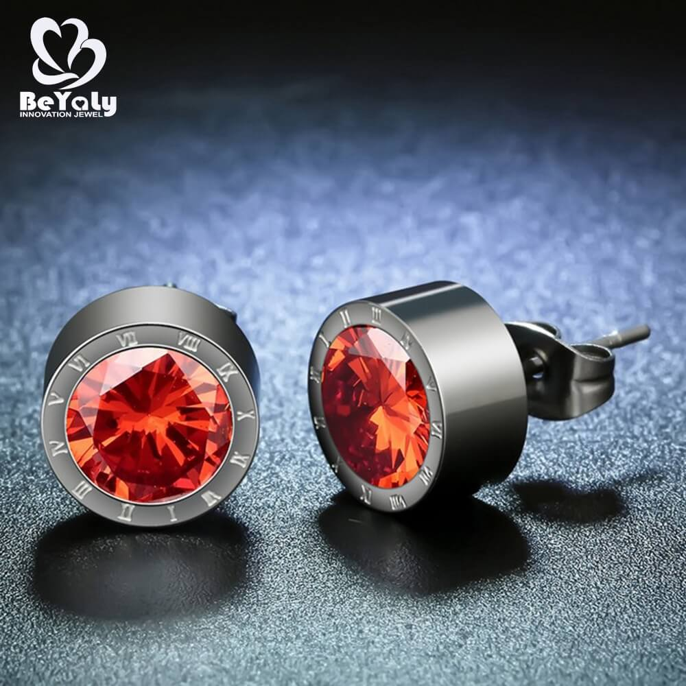 video-cubic zirconia stud earrings stud for advertising promotion BEYALY-BEYALY-img-1