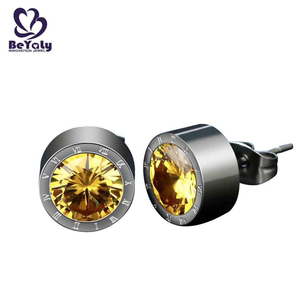 BEYALY steel earrings and jewelry Suppliers for advertising promotion-4