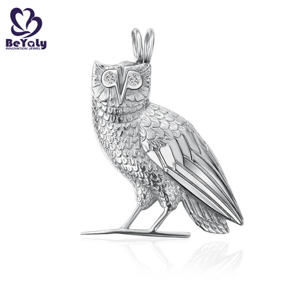 High quality stainless steel eagle pendant custom animal jewelry