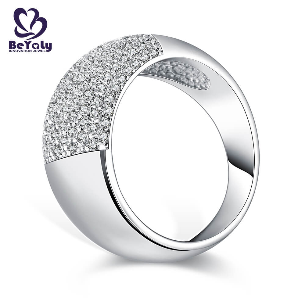 BEYALY diamond popular diamond ring styles manufacturers for wedding-1