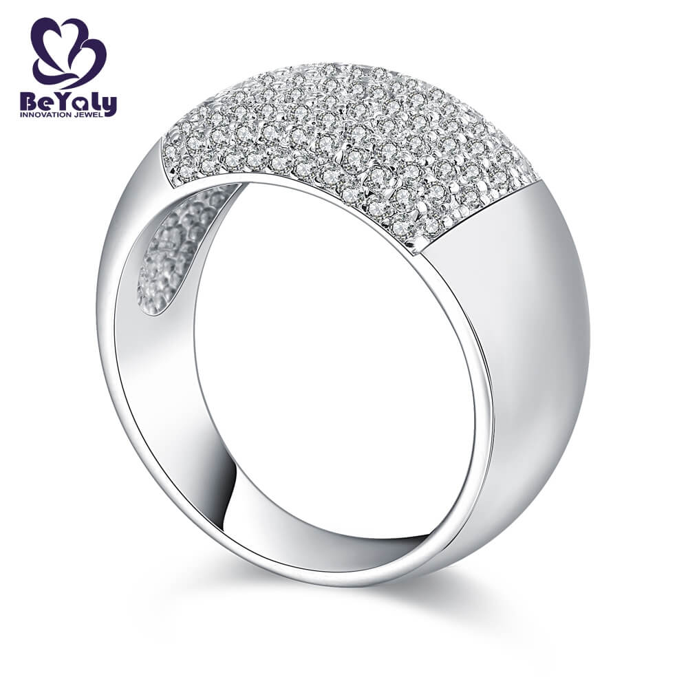 BEYALY diamond popular diamond ring styles manufacturers for wedding-2