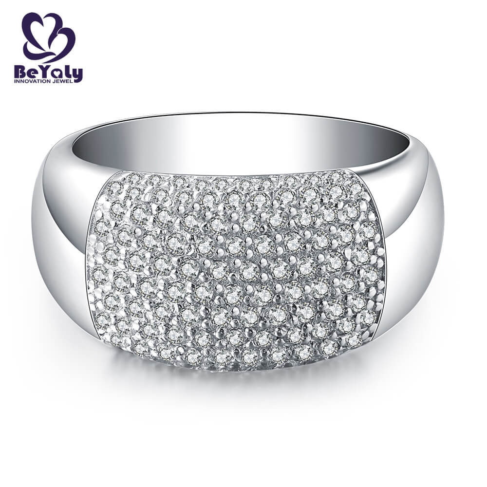 BEYALY diamond popular diamond ring styles manufacturers for wedding-3