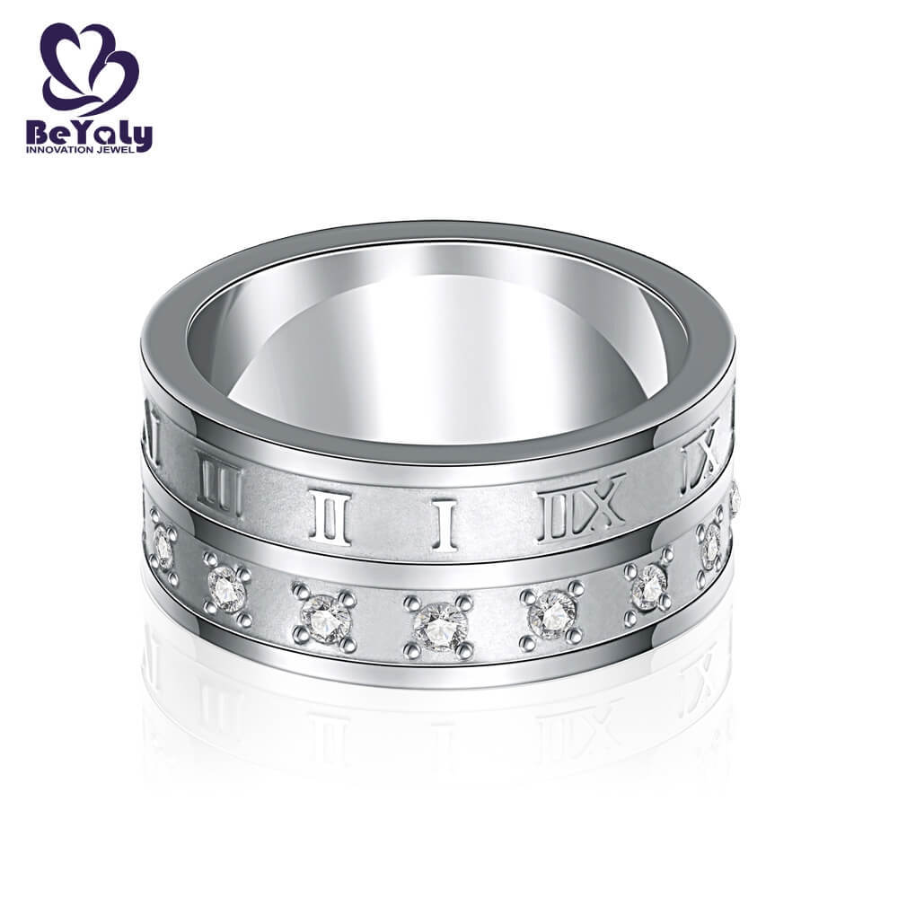 customized sterling silver ring online for daily life