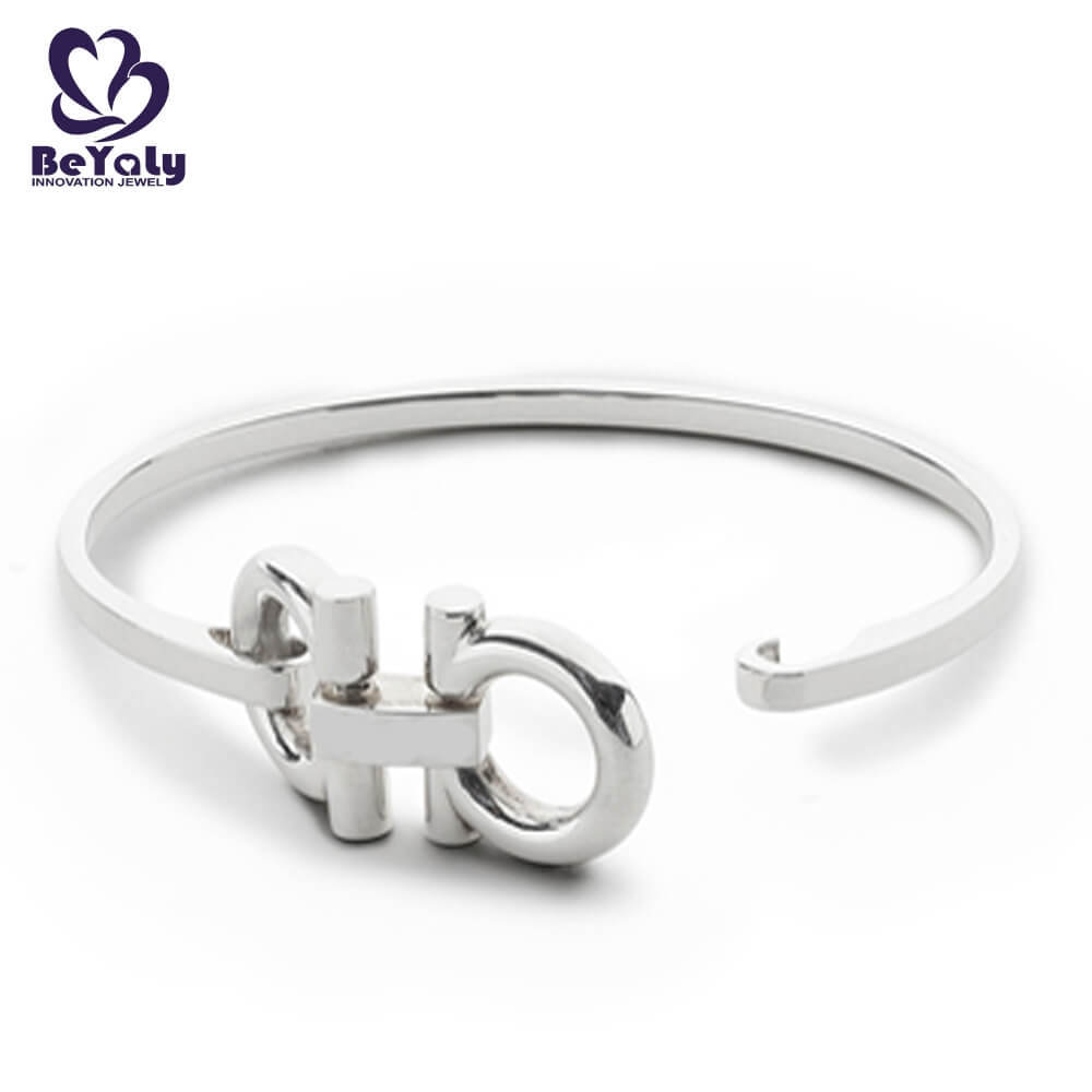 news-BEYALY-BEYALY popular sterling silver cuff bracelet design for business gift-img