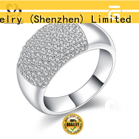 BEYALY stone gold inital ring company for daily life