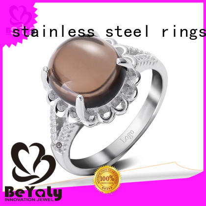 New platinum ring designs inlay Supply for daily life