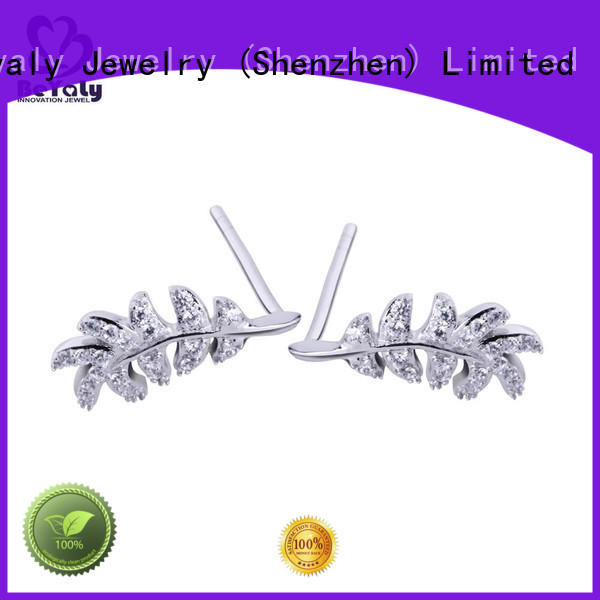 BEYALY unique cubic zirconia earrings design for advertising promotion
