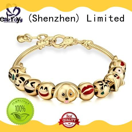Custom popular gold bangle bracelet engraved Suppliers for advertising promotion