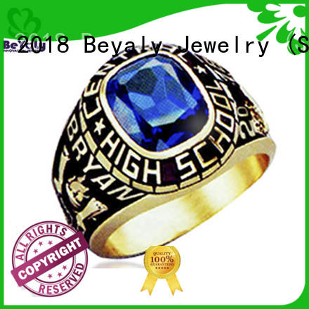 special high school class rings painting promotion for school