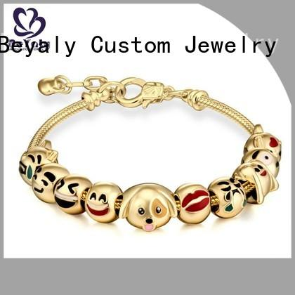 BEYALY High-quality thin bangle bracelets with charms company for anniversary celebration