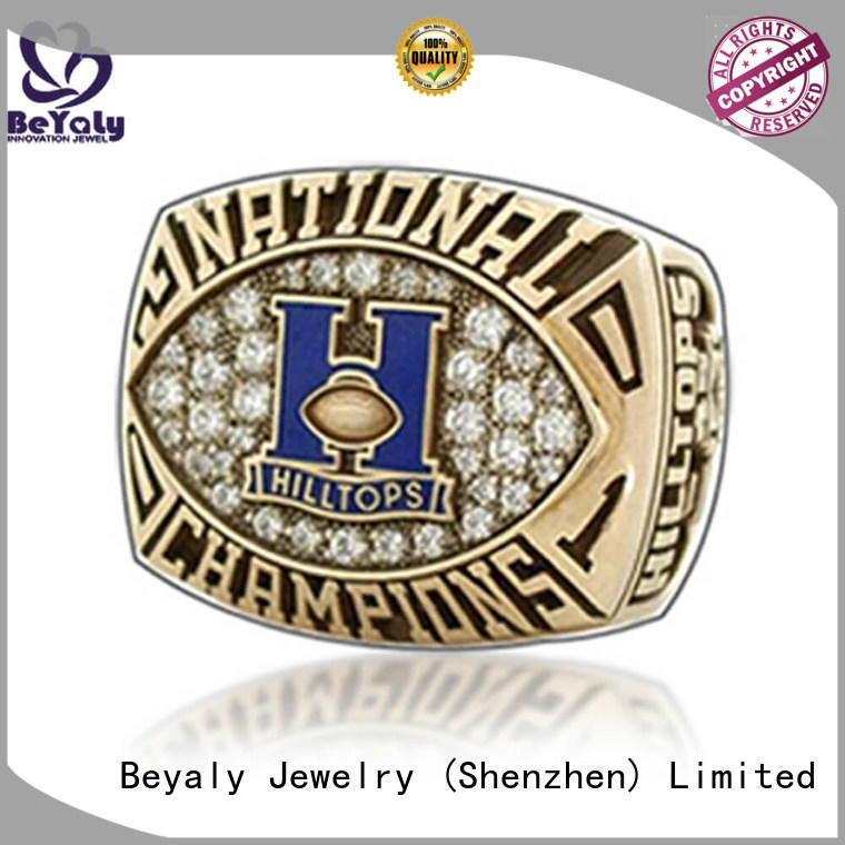 BEYALY customized basketball championship rings company for word champions