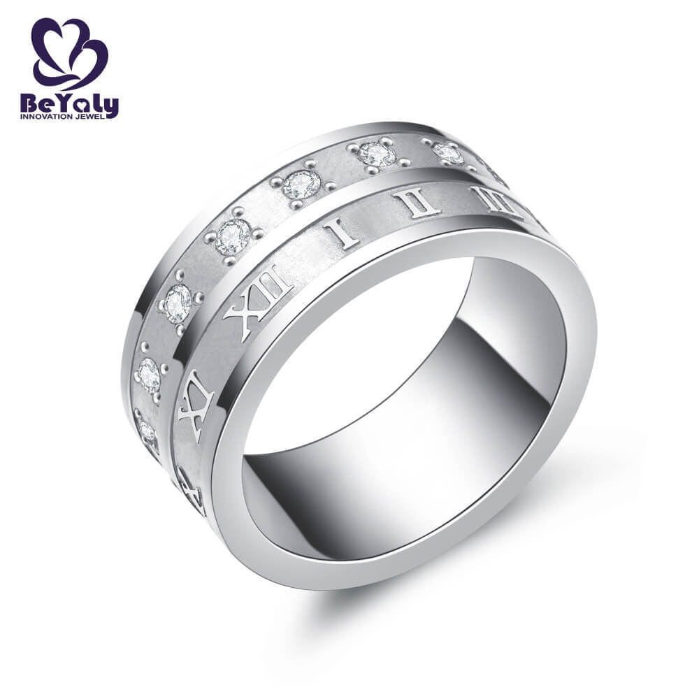promise sterling silver ring jewelry design for daily life-1
