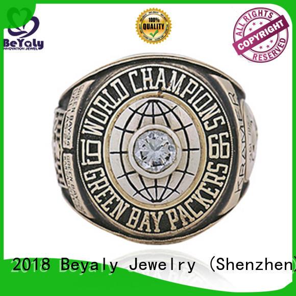 BEYALY bay custom championship rings design for athlete