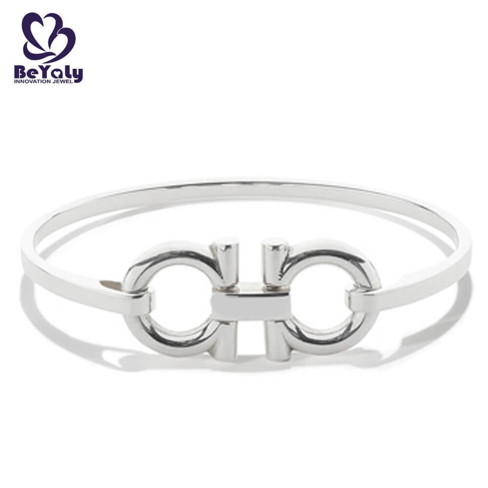 product-BEYALY popular sterling silver cuff bracelet design for business gift-BEYALY-img