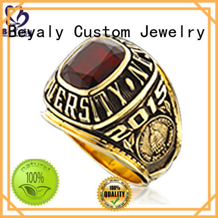 solid gold class ring stone Suppliers for students