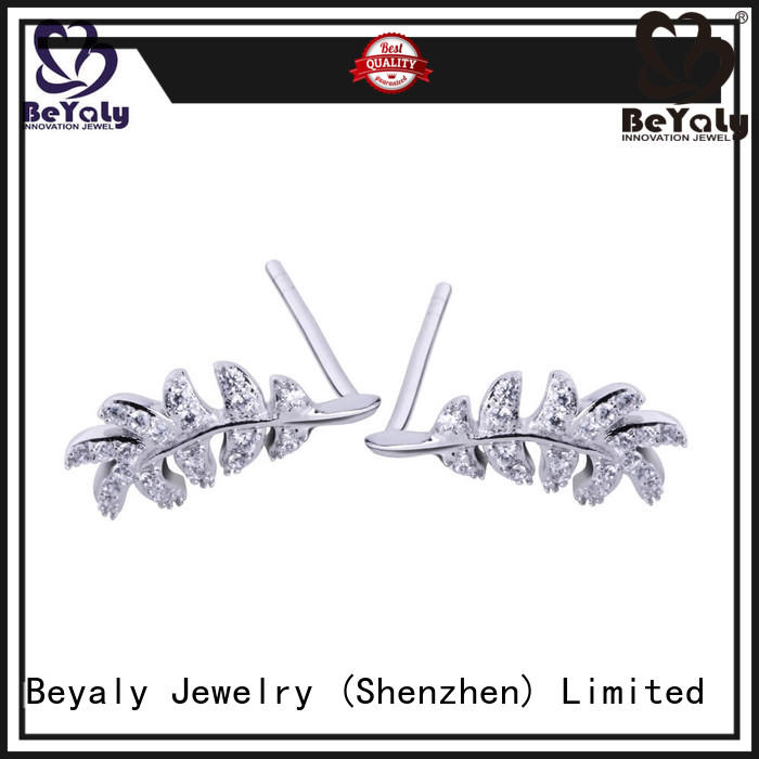 BEYALY small zircon earring Suppliers for exhibition