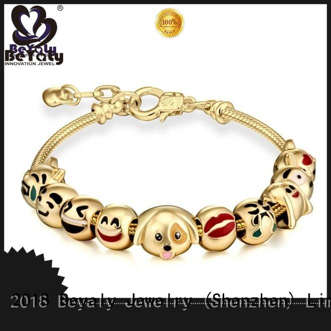 hot sell sterling silver cuff bracelet sets for business gift BEYALY