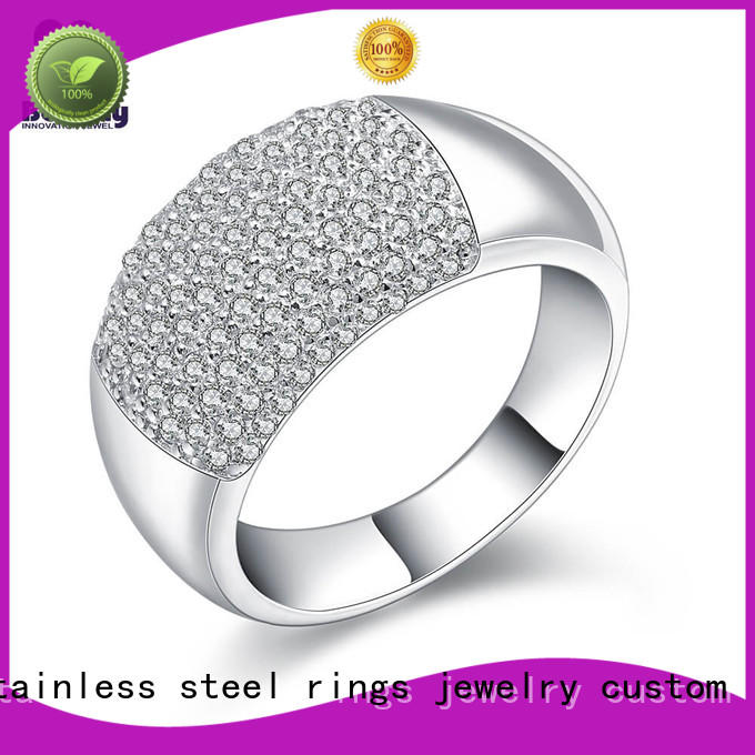High-quality platinum diamond band ring numerals Supply for men
