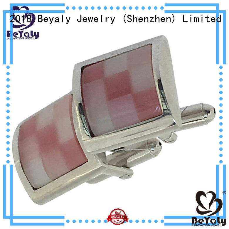 BEYALY unique custom cuff link on sale for ceremony for advertising promotion