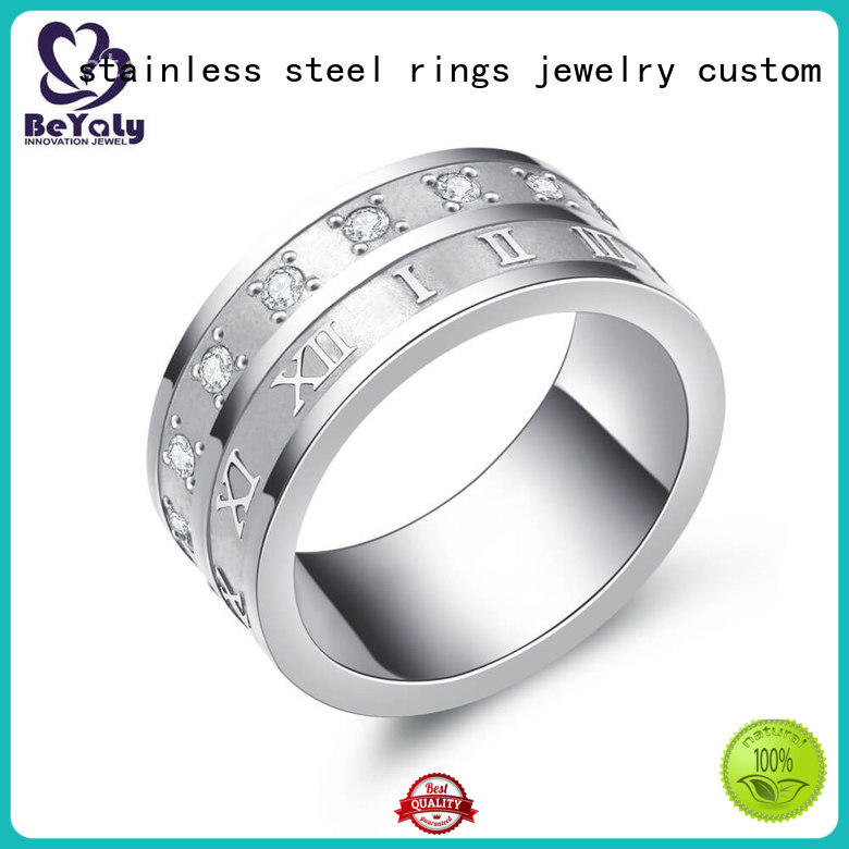 BEYALY Best platinum ring manufacturers for women