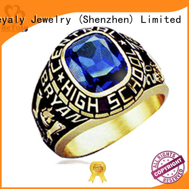 BEYALY Latest college graduation rings for business for university students