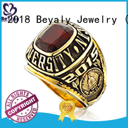 BEYALY good quality high school rings promotion for graduated