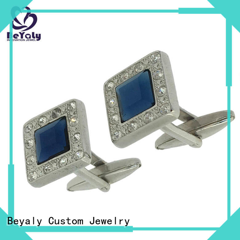 BEYALY customize cuff links company for anniversary for celebration