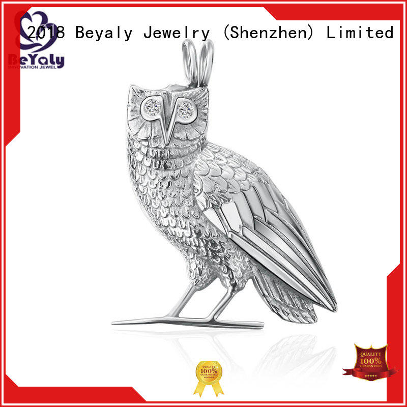pendants flowers sterling silver bezel pendant blanks BEYALY Brand