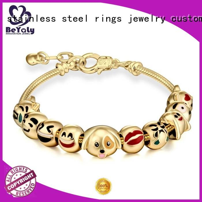strings leaf initial cuff bracelet party BEYALY company