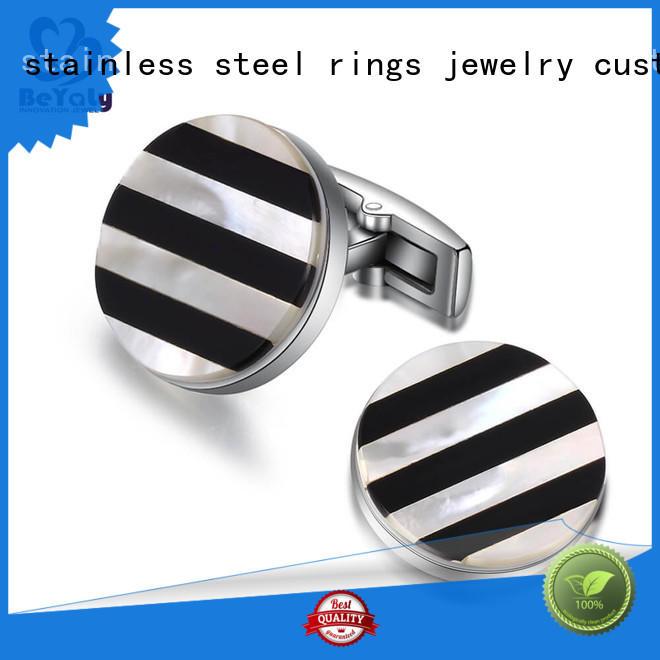 BEYALY Custom diamond cufflinks Suppliers for anniversary for celebration