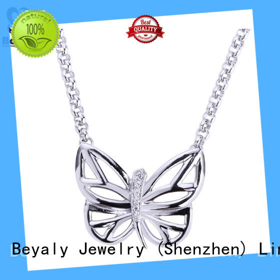 BEYALY Latest jewelry necklace chain company for women