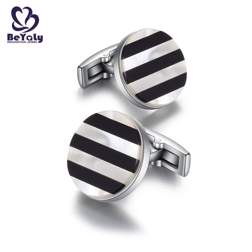 BEYALY customize cuff links for business for engagement-3