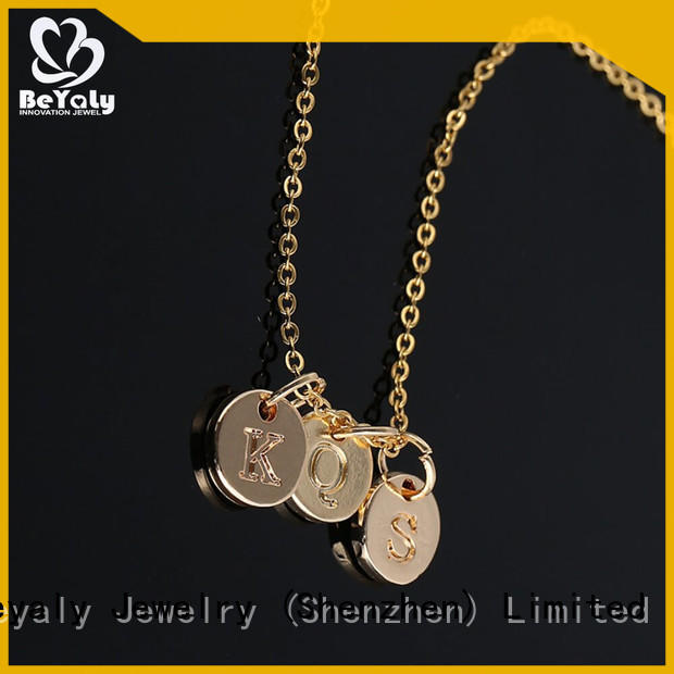 BEYALY High-quality dog tag necklace factory for ladies