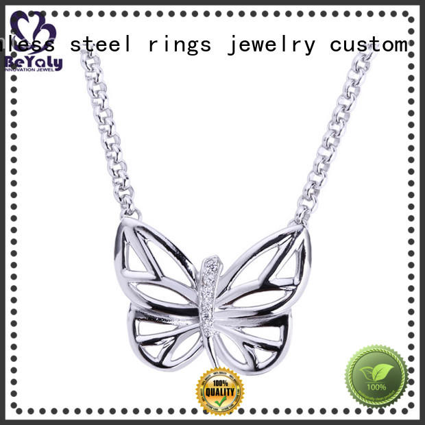 BEYALY 18k dog tag jewelry necklace Supply for ladies