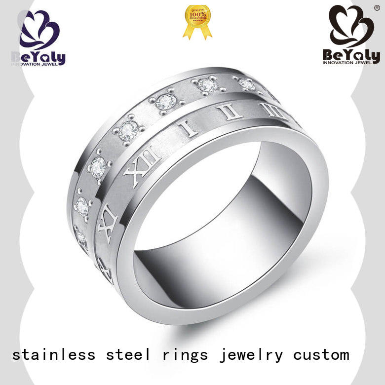 BEYALY Best gold inital ring Supply for men