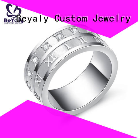 BEYALY Latest popular diamond ring styles factory for women